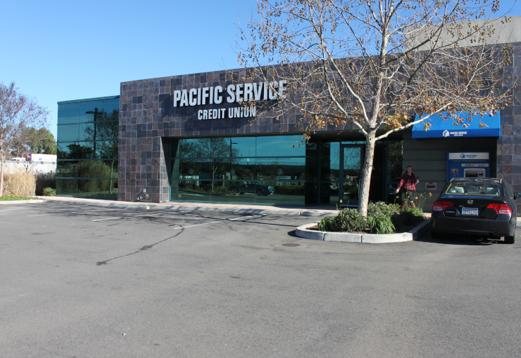 pacific service cu livermore branch store front