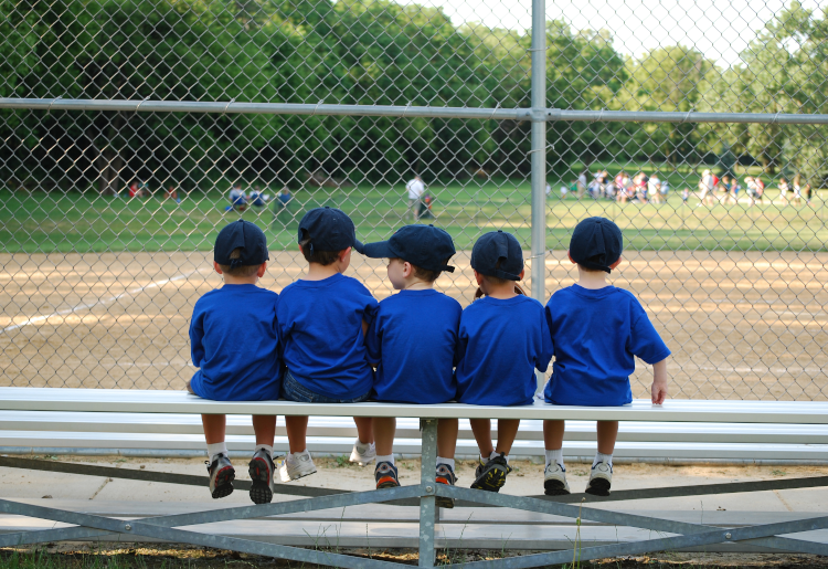 kids baseball team